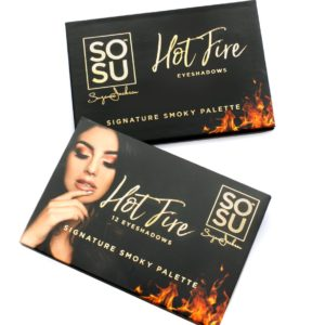 SOSU Hot Fire Eyeshadow Palette
