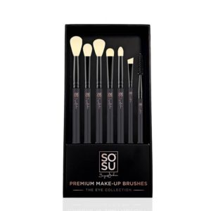 SOSU The Eye Collection 7 Piece Brush Set