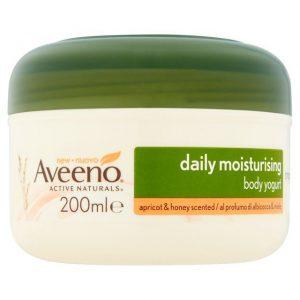Aveeno Daily Moisturising Apricot & Honey Body Yogurt 200ml