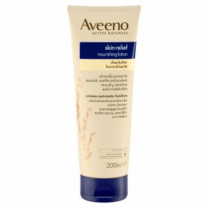 Aveeno Skin Relief Moisturising Lotion Shea Butter 200ml