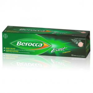 Berocca Boost Tablets Effervescent 15