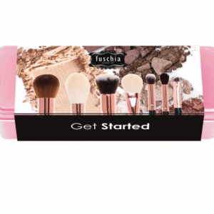 Fuschia Makeup Get Started Makeup Brush Set