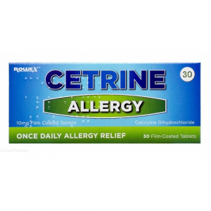 Cetrine Allergy Tablets 30's