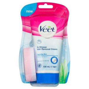Veet In Shower Hair Removal Cream – Sensitive 150ml