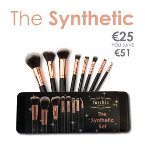 Synthetic Fuschia Brush Set