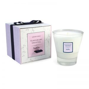 Tipperary Crystal Candle Sweet Pea