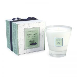 Tipperary Crystal Candle White Tea