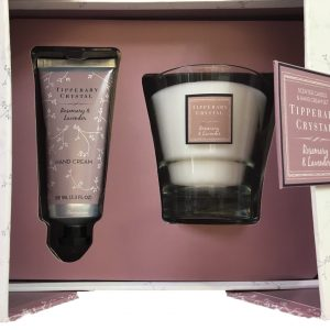 Tipperary Crystal Rosemary & Lavender Gift Set