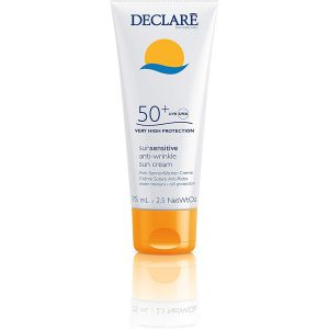 Declare SPF 50 Plus Sun Sensitive Anti-Wrinkle Sunscreen 75 ml