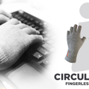 Incrediware Fingerless Circulation Gloves
