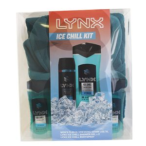 Lynx Ice Chill Bathrobe Gift Set