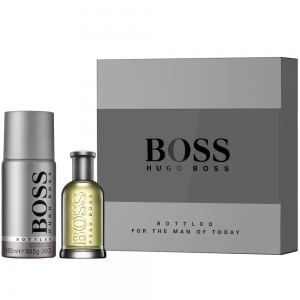 Hugo Boss Bottled 50ml and 150ml Deo spray Gift Set