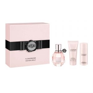 Flowerbomb Edp 30ML + Shower Gel 50ML+ Body Lotion 50ML