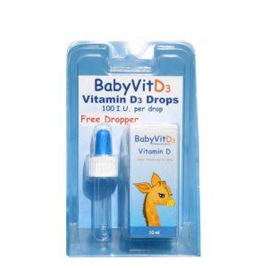 BabyVit D3 Pure Vitamin D3 Drops