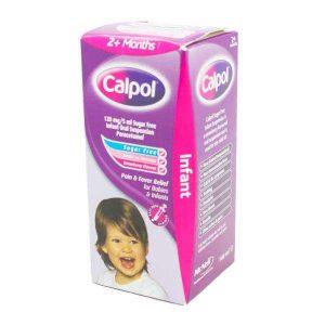 Calpol Sugar Free Infant Suspension with Syringe