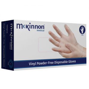 Powder-Free Vinyl Gloves Small (100)