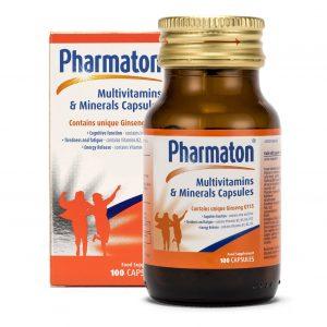 Pharmaton Multivitamins & Minerals Capsules