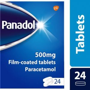 Panadol 500MG Tablets Paracetamol 24