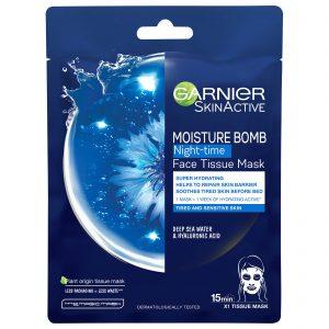 Garnier Moisture Bomb Night-Time Face Sheet Mask 32g