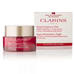Clarins Super Restorative Night Cream – All Skin Types