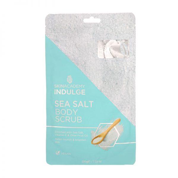Skin Academy Indulge Sea Salt Body Scrub 200g