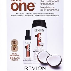Revlon Professional Uniq-One Treatment and Shampoo Coconut Set