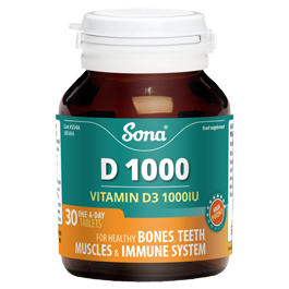 SONA D1000 Vitamin D3
