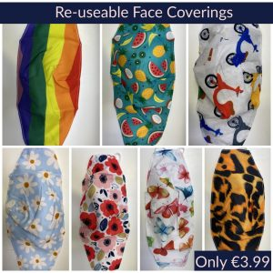 Reuseable Face Coverings