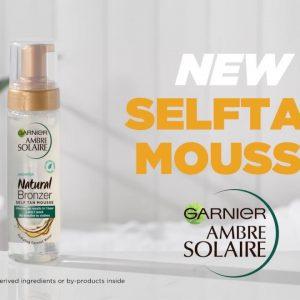 Ambre Solaire Natural Bronzer Intense Clear Self Tan Mousse 200ml