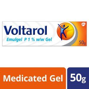 Voltarol Pain Relief Gel Emulgel P 1% 50g