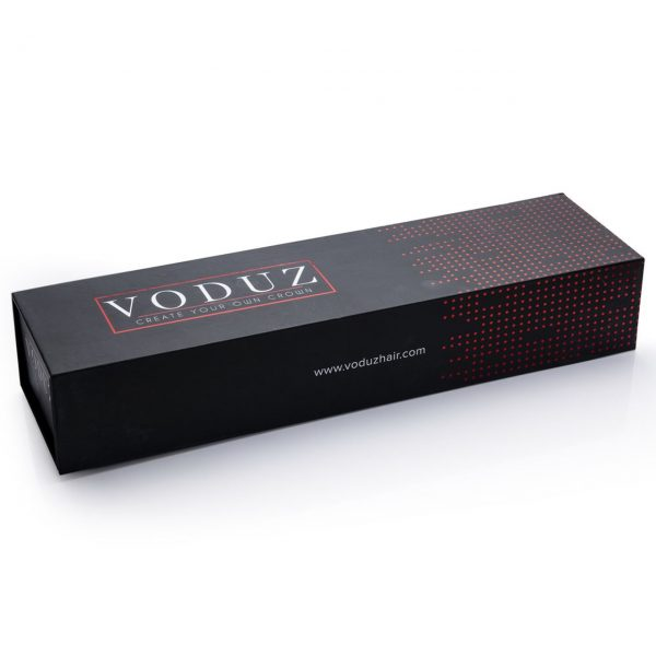 Voduz Hair straightener pharmacy online box