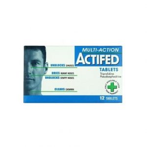 Actifed Tablets 12