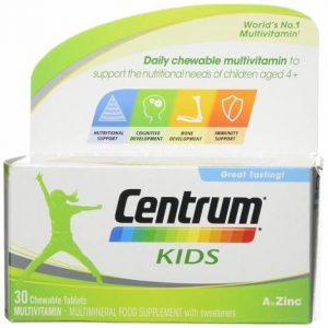 Centrum Kids Chewable Tablets 30