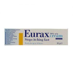Eurax Cream 10% w/w Crotamiton 30g