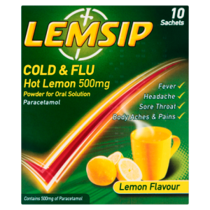 Lemsip Original Cold & Flu- 10