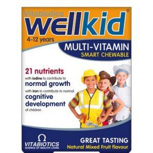 Vitabiotics Wellkid Smart Chewable Multivitamins