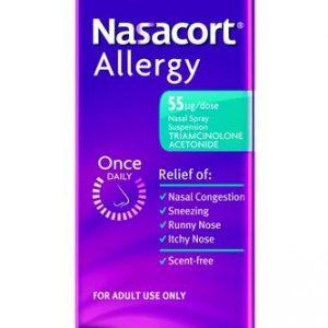 Nasacort Non Drowsy Allergy Nasal Spray 55mcg