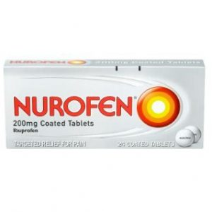 Nurofen 200mg – 24 Coated Tablets
