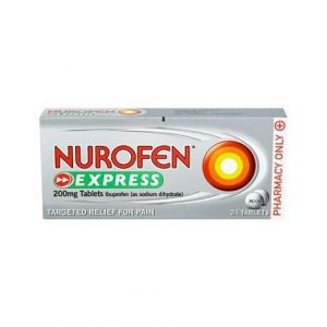 Nurofen Express 200mg – 24 Tablets