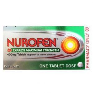 Nurofen Express Maximum Strength – 12 Tablets