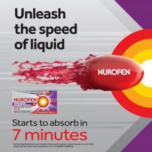 Nurofen Rapid Relief 400mg Maximum Strenght 20s