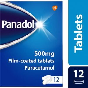 Panadol Pain Relief Tablets Paracetamol 500mg 12s