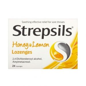 Strepsils Lozenges Honey & Lemon 24
