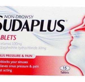 Sudaplus Non-Drowsy – 15 Tablets