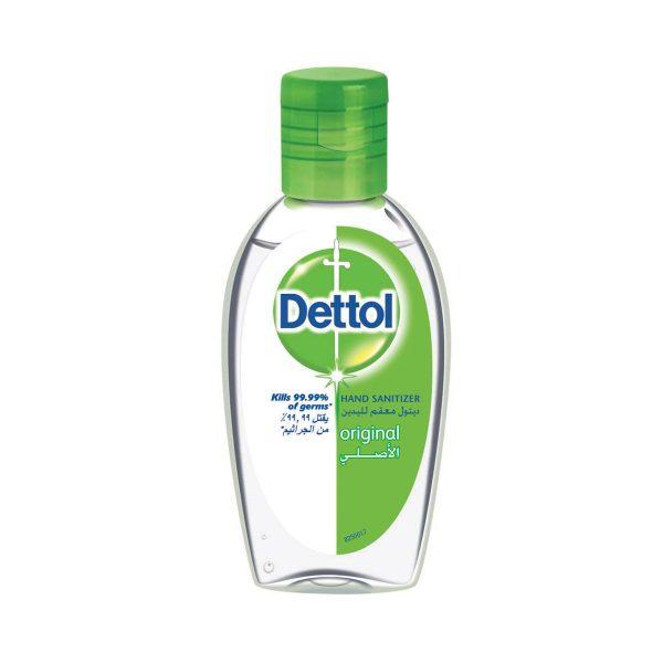 Dettol Hand Sanitiser Gel Original 50ml