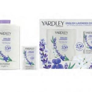 English Lavender Talc & Soap  Giftset
