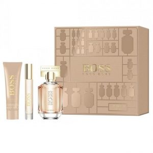 Hugo Boss The Scent 50ml 3pc Giftset for Women