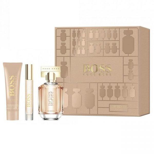 Hugo Boss The Scent 50ml 3pc Giftset for Women