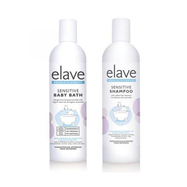 elave shampoo and bath