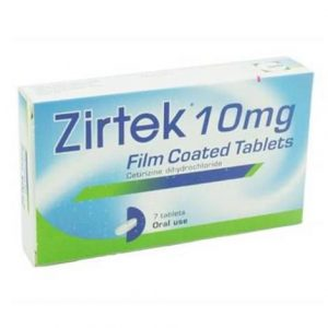 Zirtek Allergy Relief Tablets 7